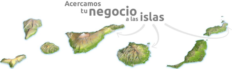 Acercamos tu negocio a las islas